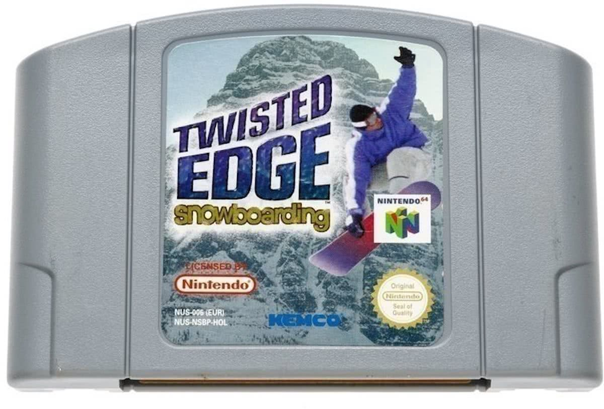 Twisted Edge Snowboarding - Nintendo 64 [N64] Game PAL